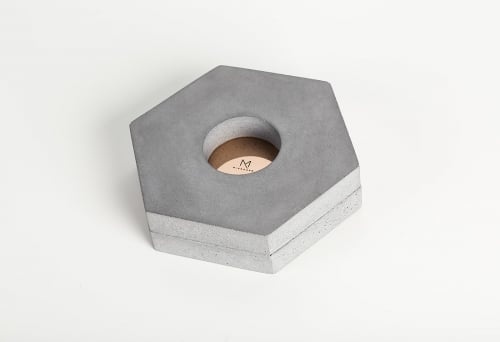 Minimalist home accessories - Tealight Holder MTH3 - Minshape