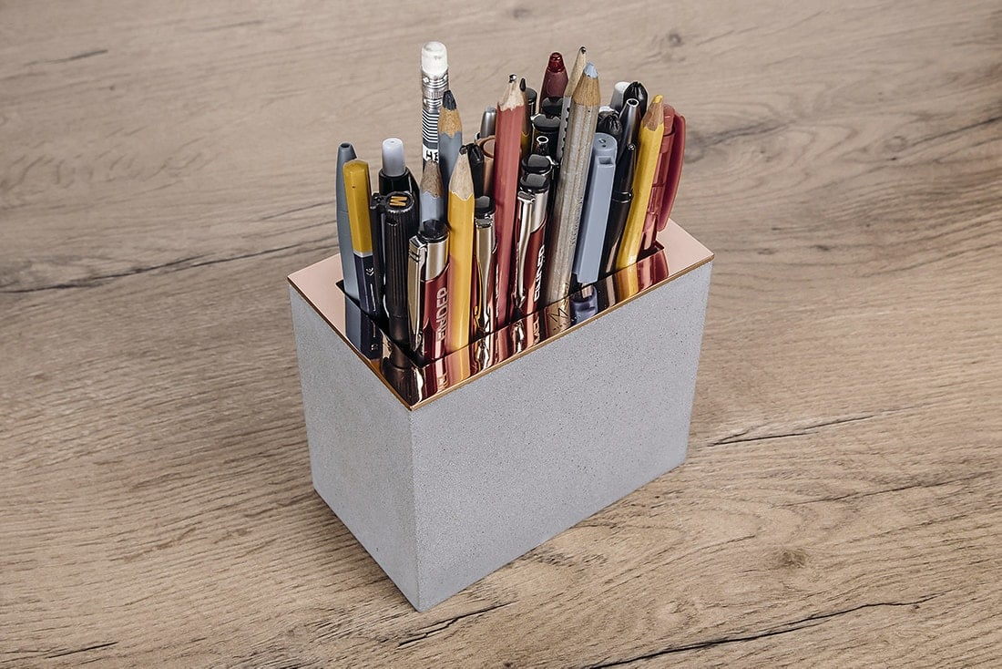 Home accessories, business gifts - Pen Holder MPH1 - Minshape