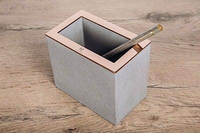 Interjero detalės, verslo dovanos, namų aksesuarai iš betono